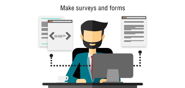 surveys and forms,