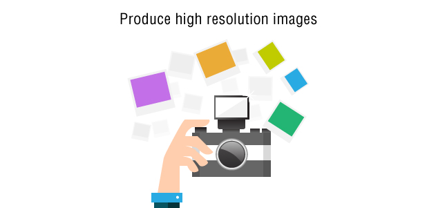 Produce High Resolution Pages