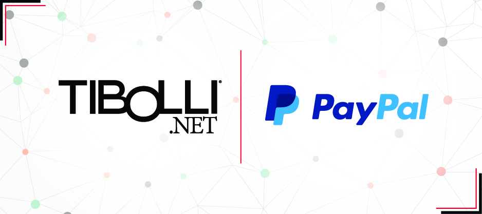 Tibolli.NET Partners With PayPal