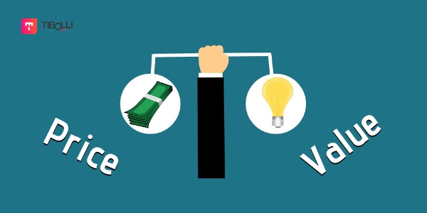 balance between product price and product value